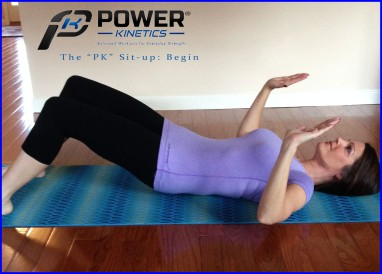 The Power Kinetics abdominal exercise. Step 1—Part 1
